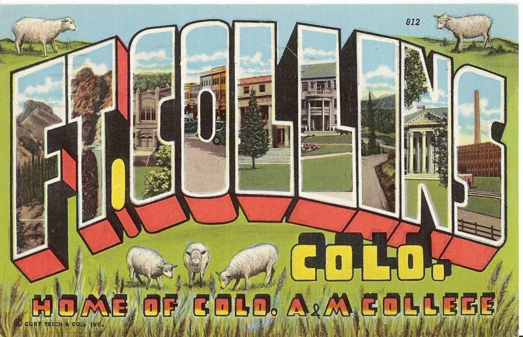 Historic Fort Collins Postcards – First Set