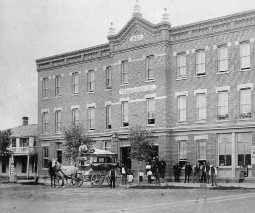 Tedmon House and Other Early Hotels in Fort Collins